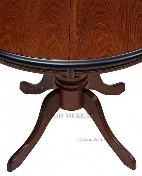 Стол TS Olivia OL-T4EX(AV) Dark Walnut D106 (фото, вид 7)