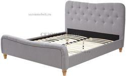 Кровать SWEET JAZMIN 160*200 ткань Grey 2. Вид 2