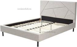 Кровать SWEET VALERY 160*200 ткань Stone 1A. Вид 2