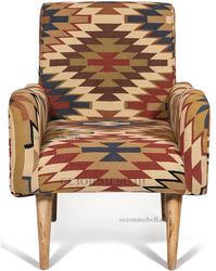 Кресло Sondrio (burgundy/brown). Вид 2