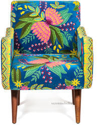 Кресло Sondrio (blue/green). Вид 2