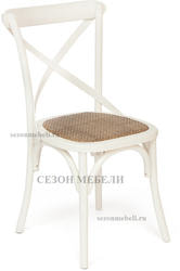 Стул Cross Chair (mod.CB2001) белый. Вид 2