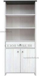 Шкаф - Стеллаж комбинированный Порто REG2D1S. Вид 2