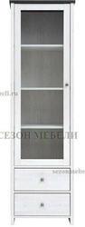 Шкаф витрина Порто REG1W2S. Вид 2