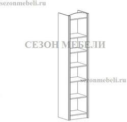 Шкаф - Пенал Салерно REG2D L/P. Вид 2