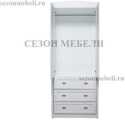 Шкаф платяной Салерно SZF2D3S. Вид 2