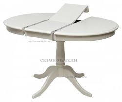 Стол TS Siena (SA-T4EX(AV)) Ivory white. Вид 2