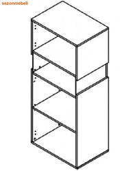 Шкаф Ньюарк REG1W/14/6 P (правый). Вид 2