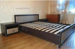 Кровать Коен LOZ140/160/180x200 венге магия/ штрокс темный. Вид 2