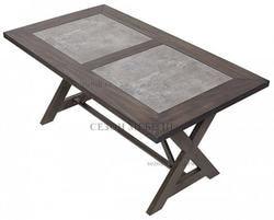 Стол EVELYN 160 шпон+керамика. Вид 2