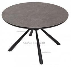 Стол VOLAND 120 Dark Grey Spanish Ceramic TL54 керамика. Вид 2
