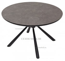 Стол VOLAND 120 Dark Grey Spanish Ceramic TL54 керамика. Вид 2