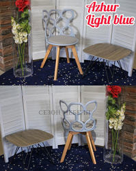 Стул AZHUR LIGHT BLUE. Вид 2