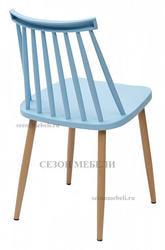 Стул EASEL голубой PP/металл ламинированный. Вид 2