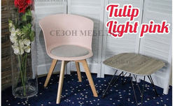 Стул TULIP LIGHT PINK. Вид 2