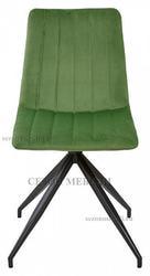 Стул MILLER весенняя зелень/ серый каркас, велюр G062-16. Вид 2