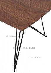 Стол ALICE 160 см Орех. Вид 2