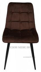 Стул CHIC G062-10 шоколадный, велюр. Вид 2