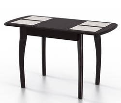 Стол Домино-1 МР венге/амбер 1. Вид 2