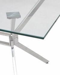Стол SALERNO150 прозрачный. Вид 2