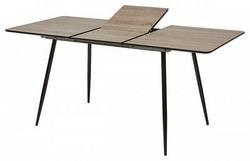 Стол PEPPER #4 дуб серо-коричневый/ черный каркас. Вид 2