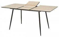 Стол PEPPER #5 дуб сонома / черный каркас. Вид 2