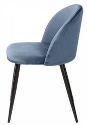 Стул MELODY пудровый синий, велюр G108-56. Вид 2