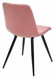 Стул PADOVA UF860-05B розовый, ткань. Вид 2