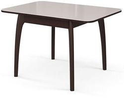 Стол №45 ДН4 венге/стекло белое. Вид 2