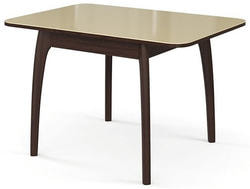 Стол №45 ДН4 венге/стекло бежевое. Вид 2