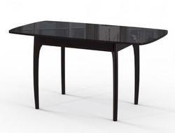 Стол М15 ДН4 венге/стекло черное. Вид 2