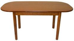 Стол обеденный овальный ВМ30 (коньяк). Вид 2