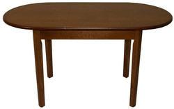 Стол обеденный овальный ВМ40 (коньяк). Вид 2