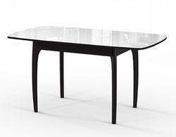 Стол №40 ДН4 венге/стекло белое. Вид 2