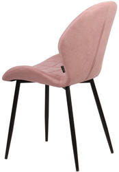 Стул FLOWER PK-07 розовый, ткань микрофибра. Вид 2