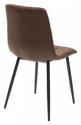 Стул COACH GW-12 коричневый винтажный, ткань. Вид 2