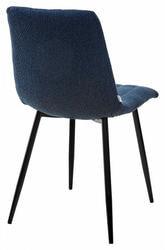 Стул DUBLIN TRF-06 полночный синий, ткань. Вид 2