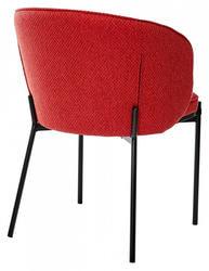Стул DIANA TRF-04 красный, ткань. Вид 2