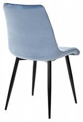 Стул CHIC G108-56 пудровый синий, велюр. Вид 2