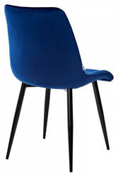 Стул CHIC G108-67 глубокий синий, велюр. Вид 2