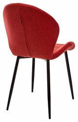 Стул FLOWER TRF-04 красный, ткань. Вид 2