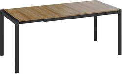 Стол обеденный Ванкувер тип 1 (Черный/ Ривьера). Вид 2
