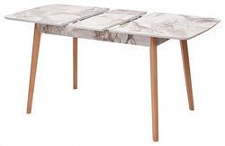 Стол 29 WHITE MARBLE белый мрамор. Вид 2