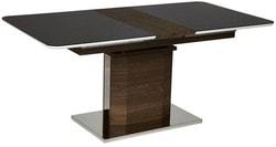 Стол Radcliffe (mod. EDT-VG002) Коричневый, стекло черное. Вид 2