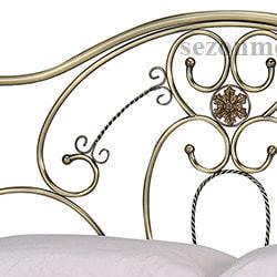 Кровать Elizabeth (Элизабет) ан.9701 античная медь. Вид 2