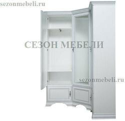 Шкаф угловой Кентаки SZFN5D белый. Вид 2