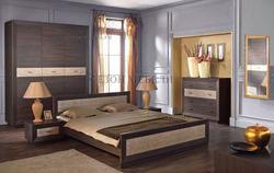 Кровать Ларго PLOZ венге/сибу. Вид 2