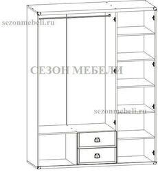 Шкаф Индиана JSZF 3D 2S 150 дуб. Вид 2