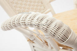 Обеденная группа Andrea White (Андреа Белый) стол+4 кресла. Вид 2