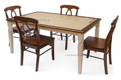 Стол обеденный с плиткой Emir СТ 3760Р (Эмир). Вид 2